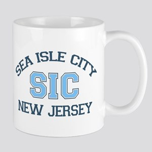 Sea Isle City NJ - Varsity Design Mug
